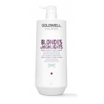 Goldwell DS Blondes&Highlights Anti-Yellow Conditioner 1L Palsam blondidele juustele